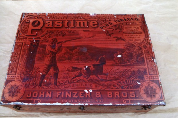 Pastime Tobacco Tin